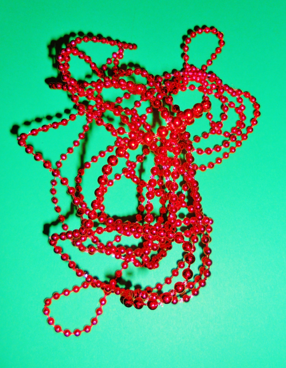 beads for card