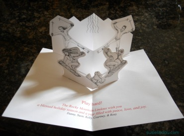 inside of diy card