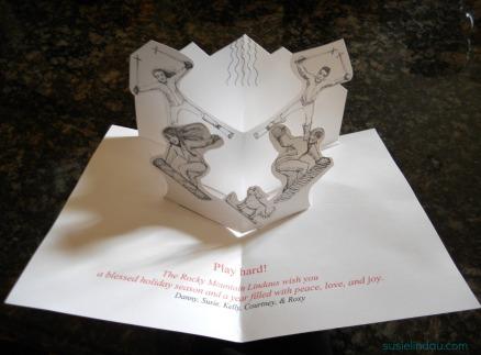 inside of diy card