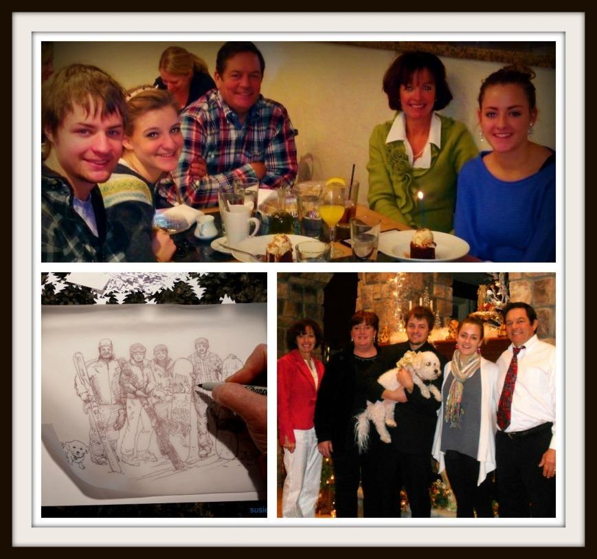 Christmas 2012 and CC's 21st birthday