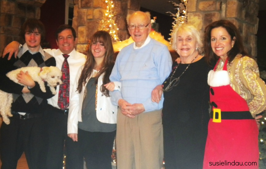 Christmas with the famiily