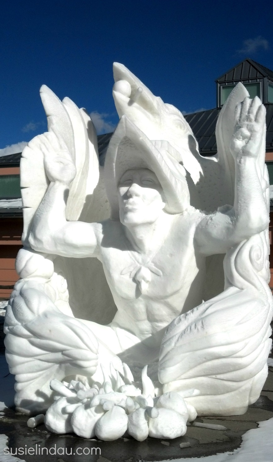 snow sculpture 1