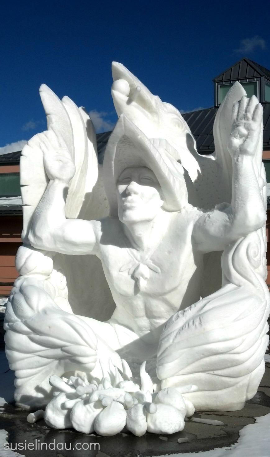snow sculpture 1