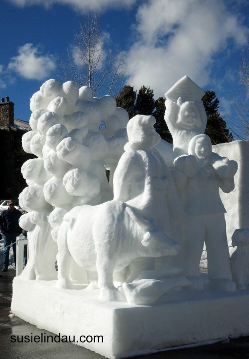 snow sculpture 6