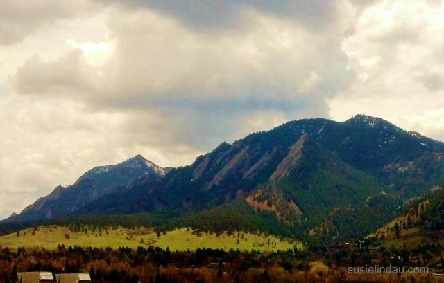 The Boulder Flatirons