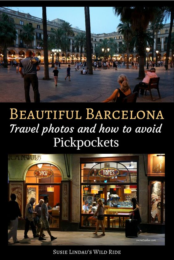 Barcelona Photographs and Pickpockets