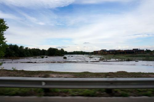 Foothills Hospital flood