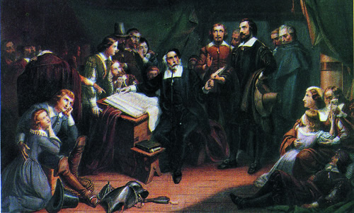 Governor Bradford and the Pilgrims
