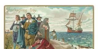 Victorian Thanksgiving card