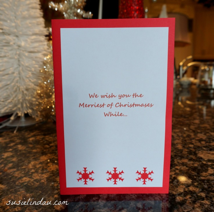Front of Card 2013