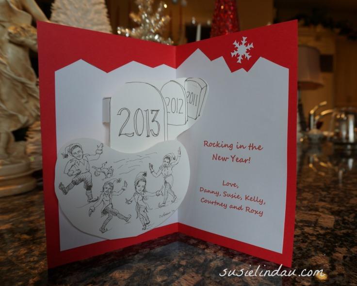 Inside 2013 Christmas card