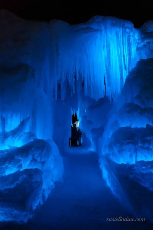 Breckenridge ice castle