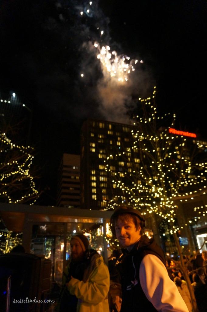 DJ K-Smash and 2014 fireworks