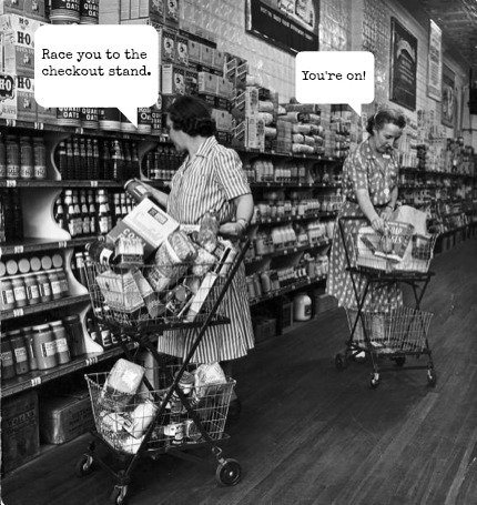 Pay it forward by looking backward and using manners. Click to see if you are well-mannered or rude! Old grocery store photo. Self care, Live your best life, Positivity, life lessons, personal growth #selfcare #lifestyle #positivity #manners