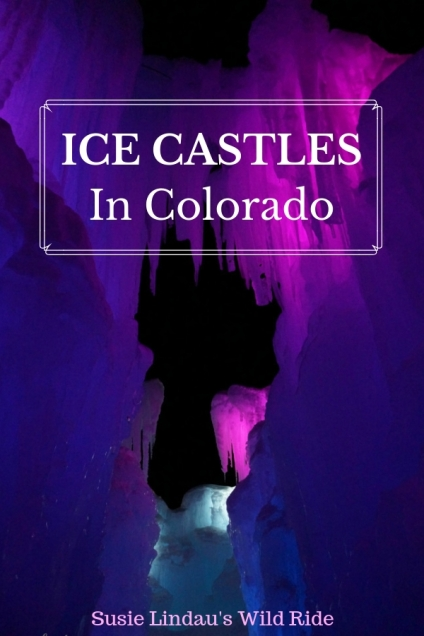 Ice Castles in Colorado. Click for photos and this year's location! Travel tips and advice, travel North America, outdoor adventures #travel #travelcolorado #colorado #travelnorthamerica #outdoors