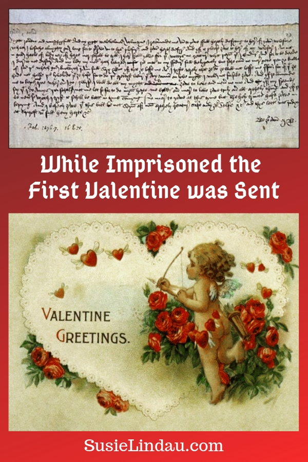 Click for a funny and surprising story about the first Valentine sent from The Tower of London! England, Duke of Orleans, Valentines Day, History, Culture #history #valentinesday #historyofvalentinesday #valentines #valentinecards