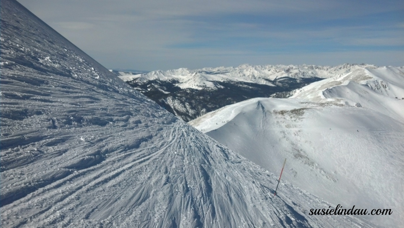 Skiing Breckenridge Whale's Tail