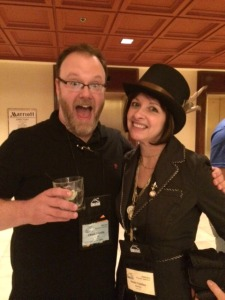 Chuck Wendig and me