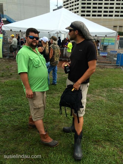 men in boots