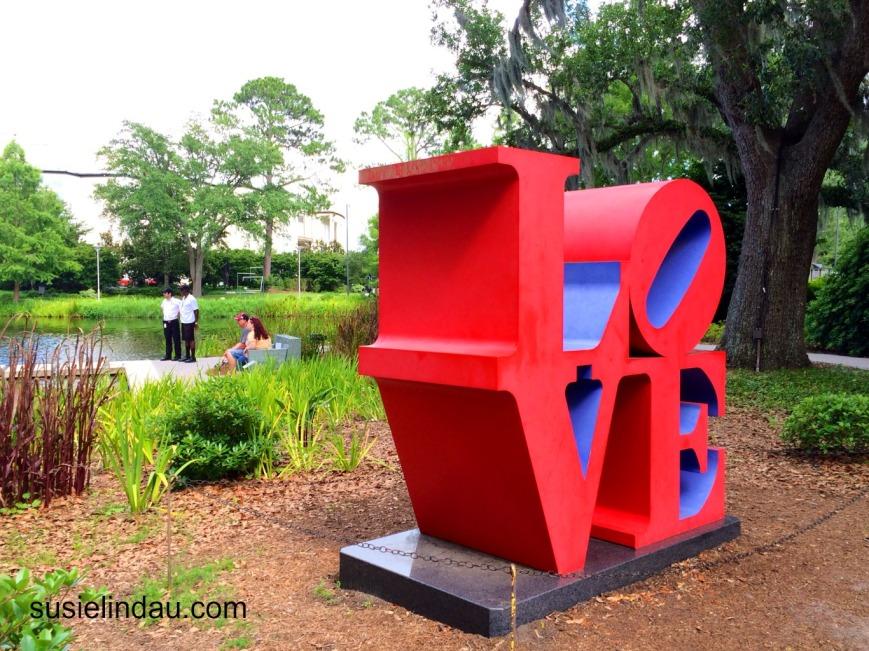 LOVE sculpture