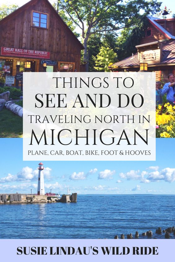Things to See and Do in Northern Michigan and Mackinaw Island, traveling by plane, boat, bike, foot and hooves. Shopping and lighthouse, Travel tips, Travel North America, summer bucket list, dream vacations #MackinawIsland #Northern Michigan #TravelNorthAmerica #traveltips #Travel