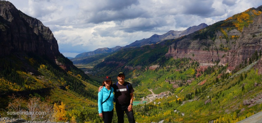 Danny and I anniversary Telluride