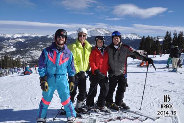 First day at Breck