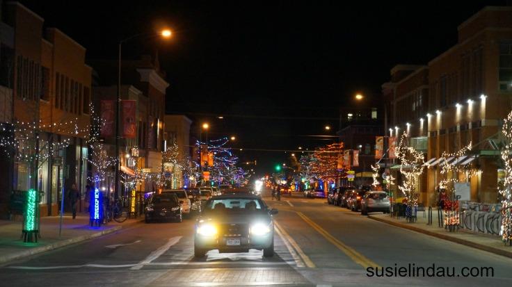 Boulder Christmas lights