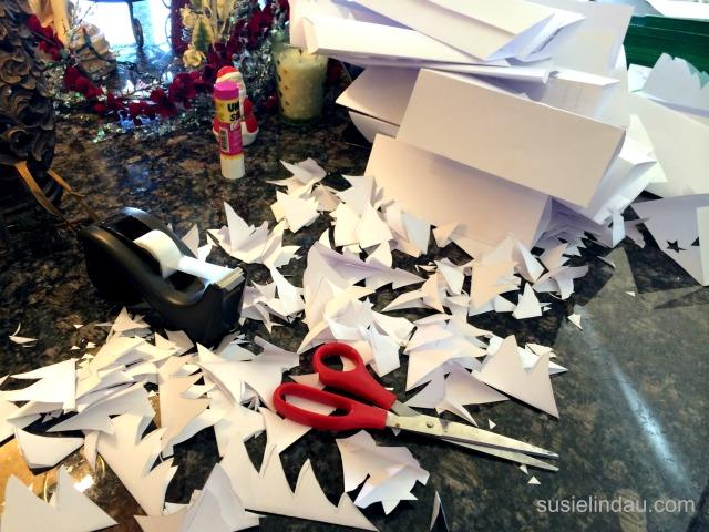 constructing Christmas