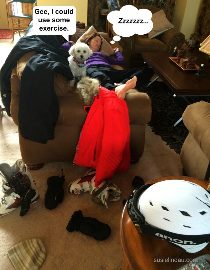 sleeping couch potato 1