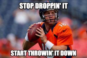 throwin it down