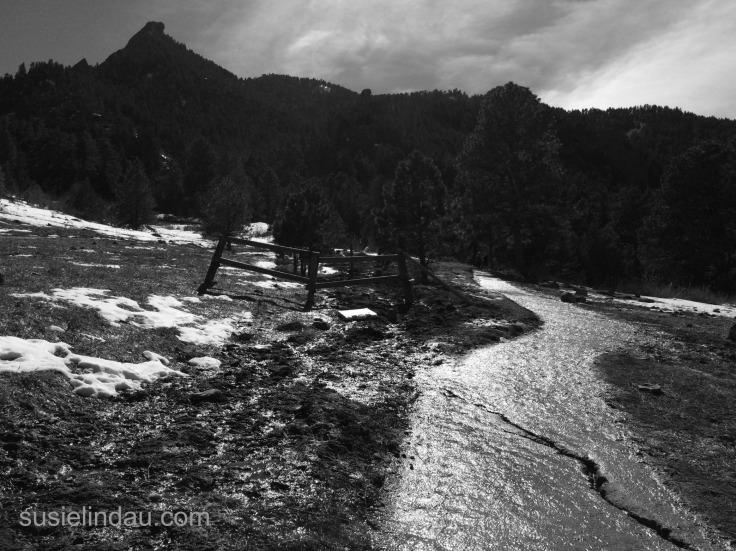 Dramatic mountain