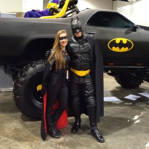 Batgirl and Batman