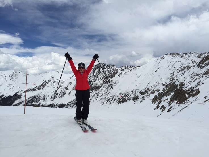 The top of A-Basin
