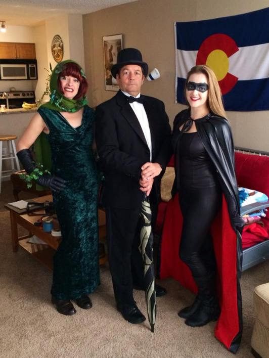 Penguin, bat girl, poison ivy
