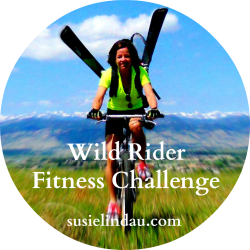 Outdoor adventure fitness challenge