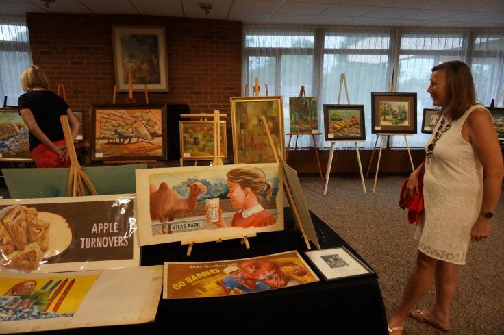 Ed McCartan art show 3
