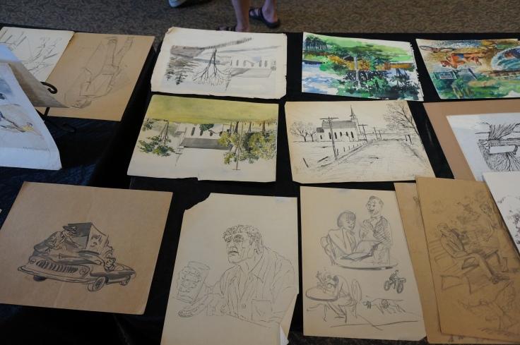 Ed McCartan drawings