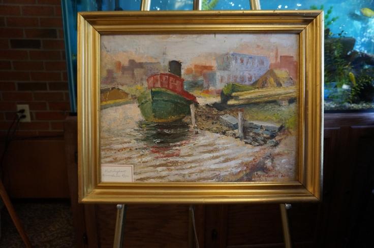 Tug Boat by Ed McCartan