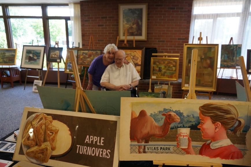 Mom and Dad Art show