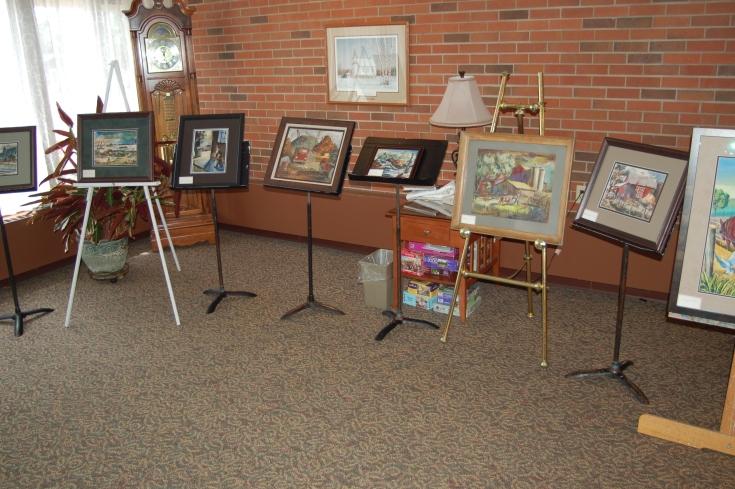 Ed McCartan Art Show