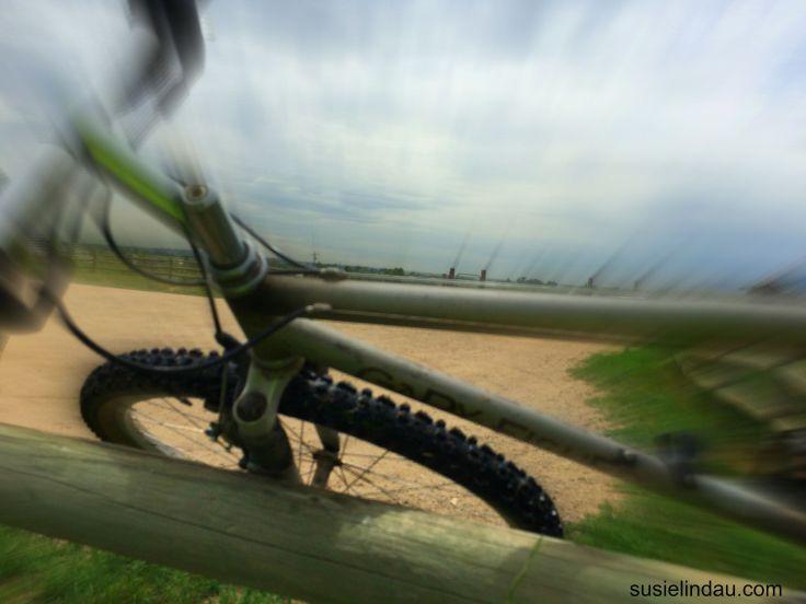 toss the bike