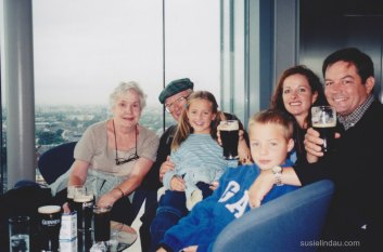 Drinking Guinness in Dublin
