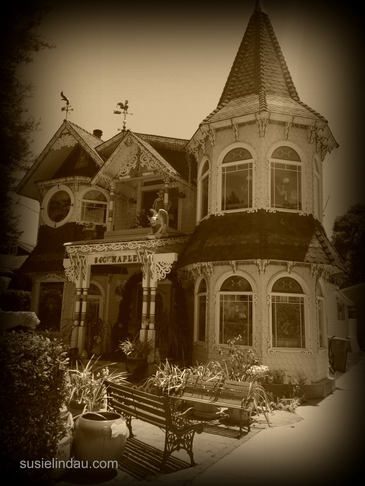 haunting house