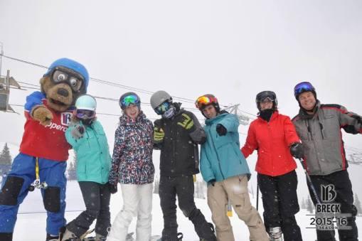 family Skiing Breckenridge