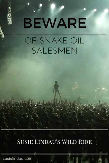 Beware of snake oil salesmen