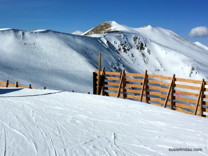 Peak 6 snow fence  breck 1