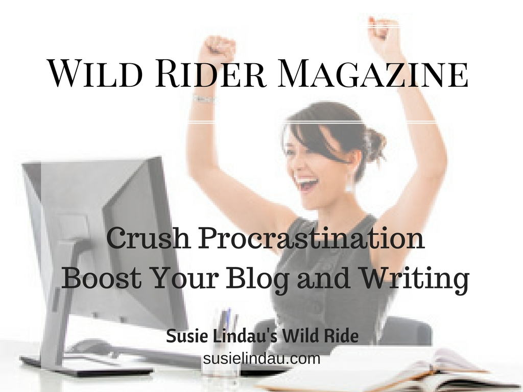 Magazine issue explores procrastination, boosting your blog and writing