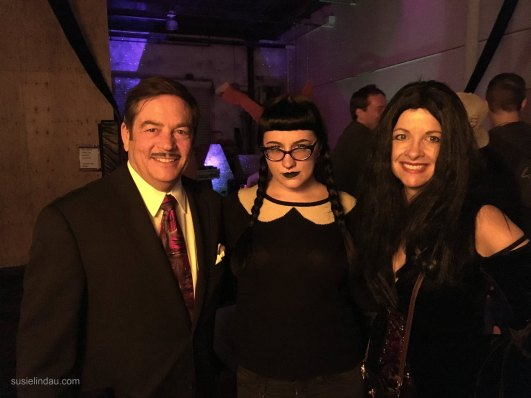 Halloween Circus with the Addams Family