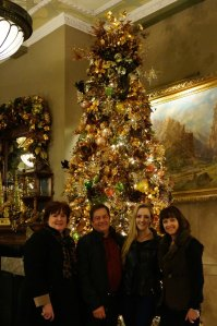 Family at the Crawford Hotel